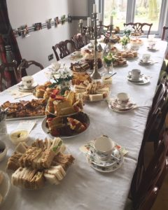 afternoon tea party delivery west yorkshire leeds