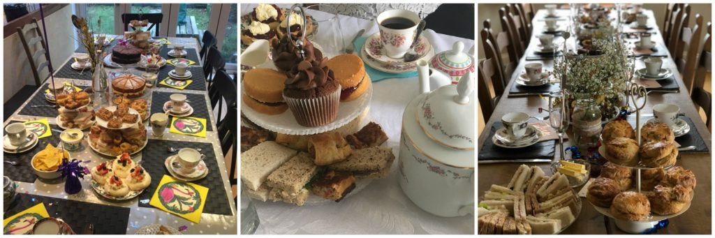 afternoon tea delivery leeds west yorkshire