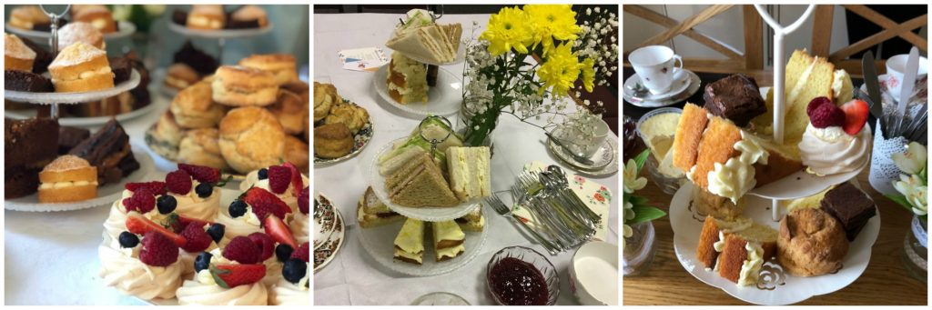 Afternoon tea hen party delivery yorkshire