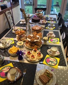afternoon tea party delivery hen do leeds
