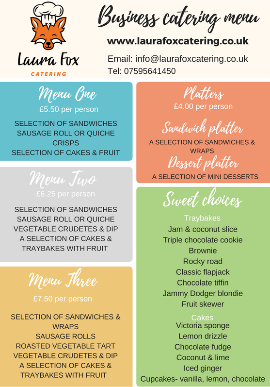 business corporate catering buffet lunches leeds west yorkshire