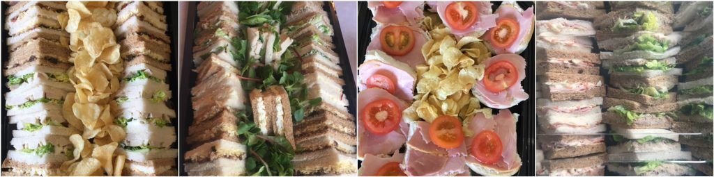 sandwich platter business lunch delivery leeds yorkshire
