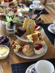 afternoon tea party food delivery west yorkshire leeds