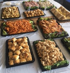Party event buffet caterer leeds yorkshire