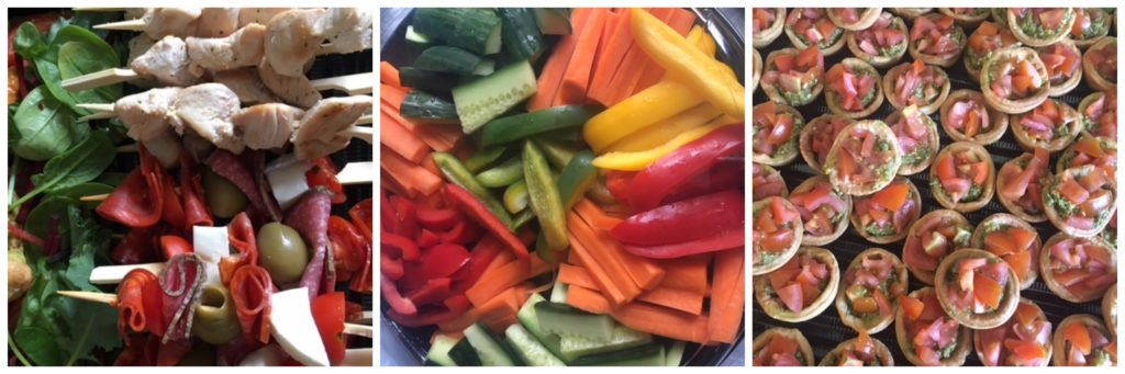 healthy buffet menu leeds west yorkshire
