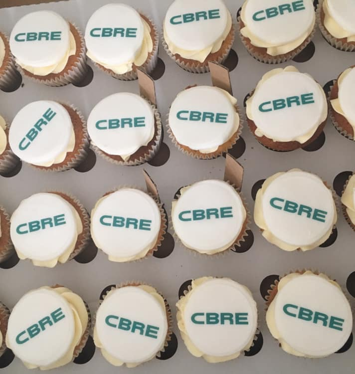 Corporate logo cupcakes business leeds west yorkshire