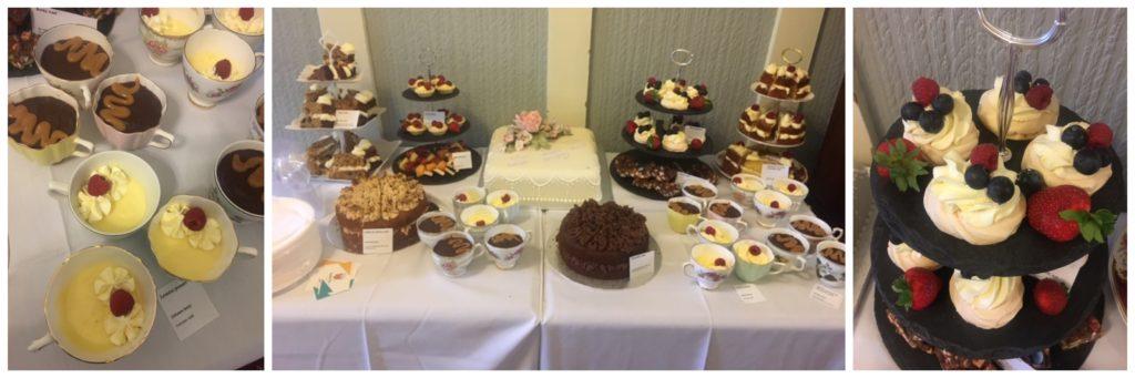 dessert table for parties weddings christenings west yorkshire leeds