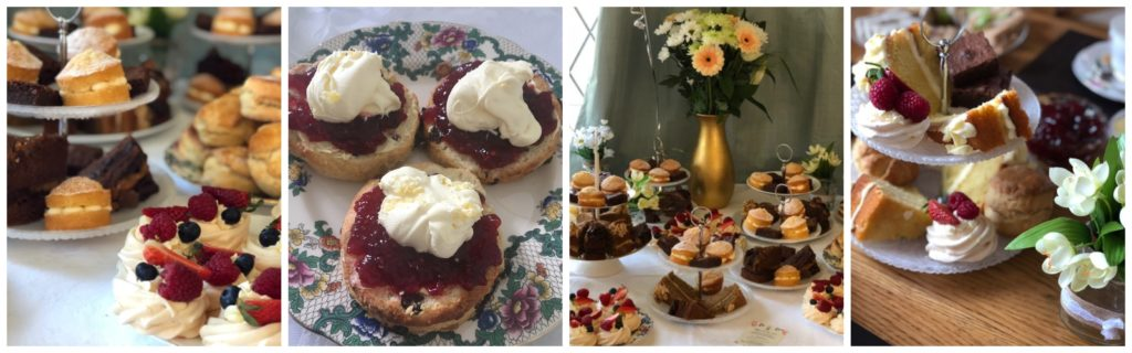 afternoon tea party catering delivery leeds west yorkshire