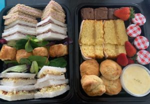 afternoon tea box delivery leeds west yorkshire
