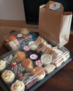 afternoon tea delivery morley leeds